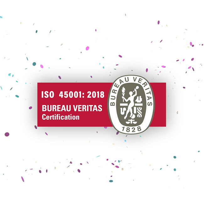 TTE migrates to ISO 45001:2018 certification