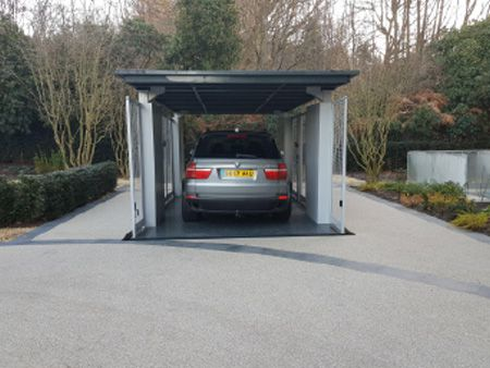 Undergroud Hidden Car Lifts